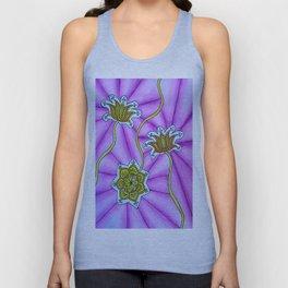 Lotus Flowers Unisex Tank Top