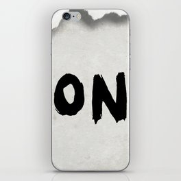 Don't (Paper Version) iPhone Skin