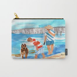 A Day at the Beach (finished) Carry-All Pouch