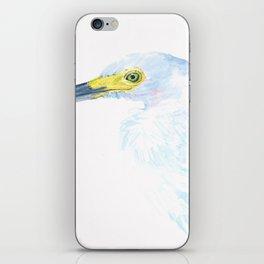 Green Eyed Heron iPhone Skin