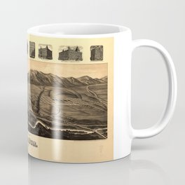 Perspective Map of Ogden, Utah (1890) Coffee Mug