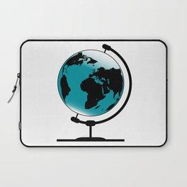 Mounted Globe On Rotating Swivel Laptop Sleeve