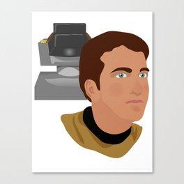 The Elder Kirk Canvas Print