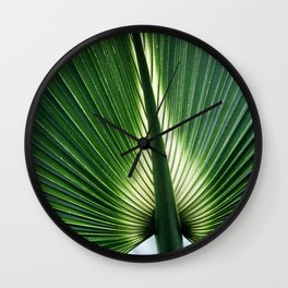 Leaves 12 Wall Clock