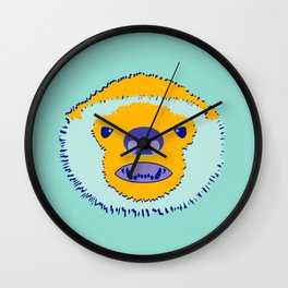 F*cking Rebels series: Honey Badger Wall Clock