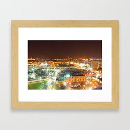 WestEndSkyline. Framed Art Print