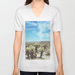 Cactus Forest Unisex V-Neck