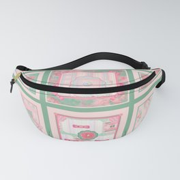 Buttons and Bows Quilt Fanny Pack