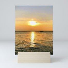 Indian waves Mini Art Print