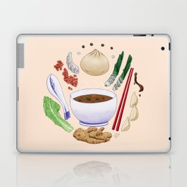 Dumpling Diagram Laptop & iPad Skin