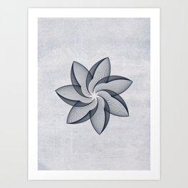 Abstract geomery Art Print