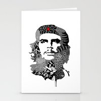che Stationery Cards featuring CHE by Rebecca Bear