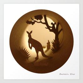 Australia (Australie) Art Print