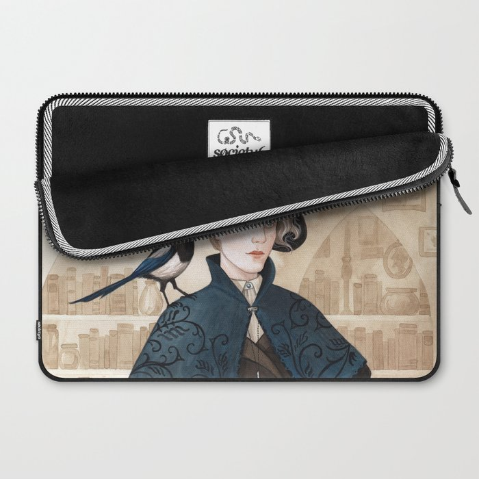 Magpie ~ A Compendium Of Witches Laptop Sleeve