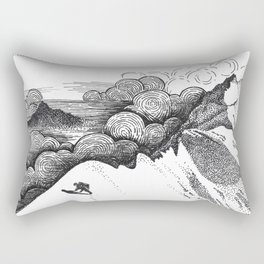 alpinism Rectangular Pillow