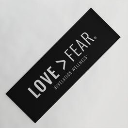 Love Fear Yoga Mat Yoga Mat
