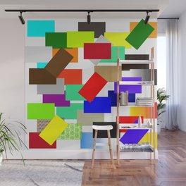 einfach farbig   (A7 B0054) Wall Mural