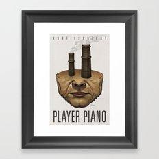 Player Piano Framed Art Print