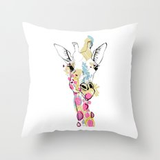 G-raff colour Throw Pillow