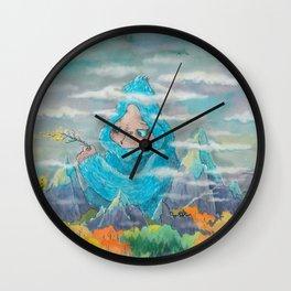 Make a wish (autumn) Wall Clock