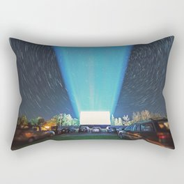 At the Drive In Rectangular Pillow