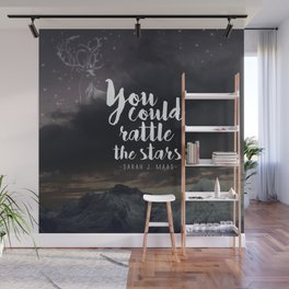 You could rattle the stars (stag included) Wall Mural