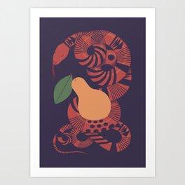 The Forbidden Fruit Art Print