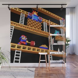 Inside Donkey Kong stage 2 Wall Mural