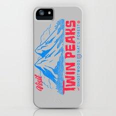 Visit Twin Peaks (hot pink) Slim Case iPhone (5, 5s)