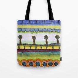 The Seaside Promenade Tote Bag