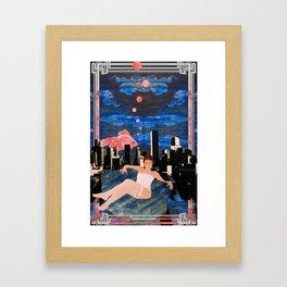Denber Lady ver.2 Framed Art Print