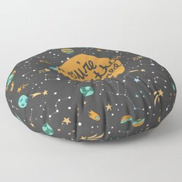 You're Outta This World Floor Pillow
