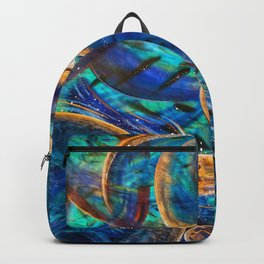 """""""Layers of Time"""", Vernal Pools of Thought & Mind Backpack"""