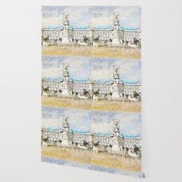 Buckingham Palace, London England Wallpaper