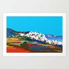 0071-Mediterranean 2 ba Art Print