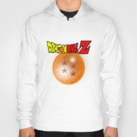 dragonball Hoodies featuring Dragonball Z, 4 star by Metalot