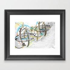 Go Around Come Around 'Refixed Bridges'  Framed Art Print