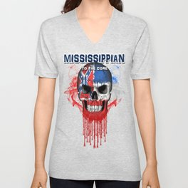 To The Core Collection: Mississippi Unisex V-Neck