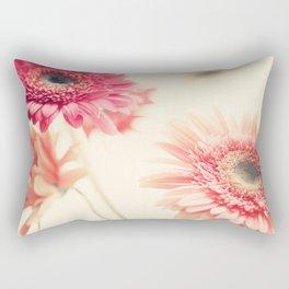 Sweet Side  (retro flower photography) Rectangular Pillow