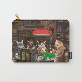 Cats Playing Poker Carry-All Pouch