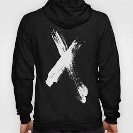 X marks the spot (white) Hoody