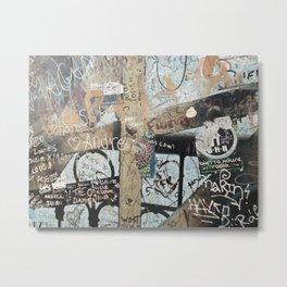 Graffiti wall 2 Metal Print