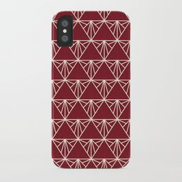 Triangle Time iPhone Case