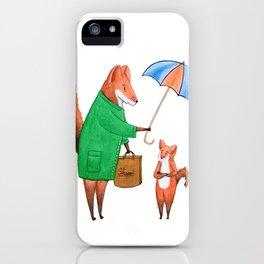 Fox friends iPhone Case