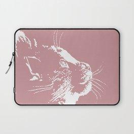 cat dreams (pink) Laptop Sleeve
