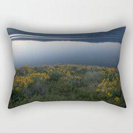 Okanagan Sunflower Rectangular Pillow