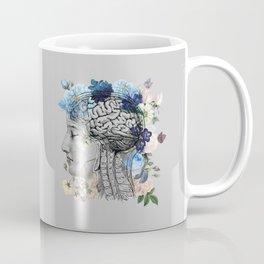Beautiful Blue Brain Coffee Mug