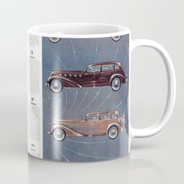 1935 Esquire New Year Car Preview No. 3: Duesenberg, Hupmobile, La Salle, Graham, Hudson, Lafayette Coffee Mug