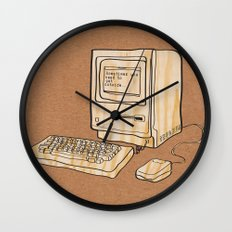Sometimes you need to get outside Wall Clock