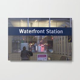 Waterfront Station Metal Print